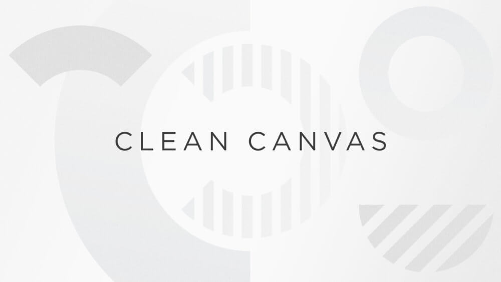 Clean Canvas